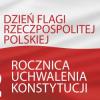 Wywieszamy flagę na majówkę! Żywiecczyzna biało – czerwona