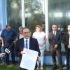 Konferencja prasowa kandydata PiS na burmistrza Żywca