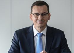 12.09 Premier RP Mateusz Morawiecki w Żywcu