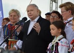 02.10. Prezes PiS J. Kaczyński w Telewizji Trwam i Radiu Maryja