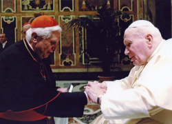 List Benedykta XVI na 100 – lecie urodzin św. Jana Pawła II