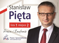 Stanisław Pięta – Praca i zaufanie