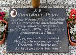 44 rocznica śmierci Stanisława Pyjasa